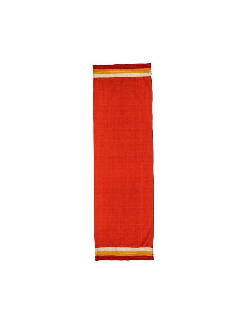 Le Botteghe su Gologone Runner Cotton 130x50 Cm - Red