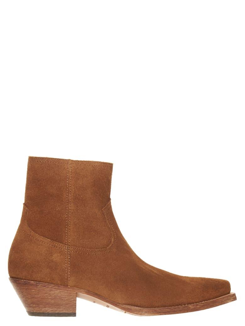 Saint Laurent 'lukas' Shoes - Brown
