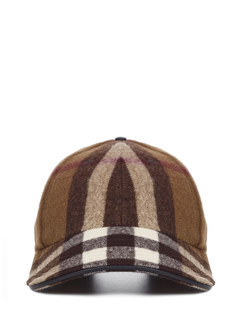 Burberry Cap - Brown
