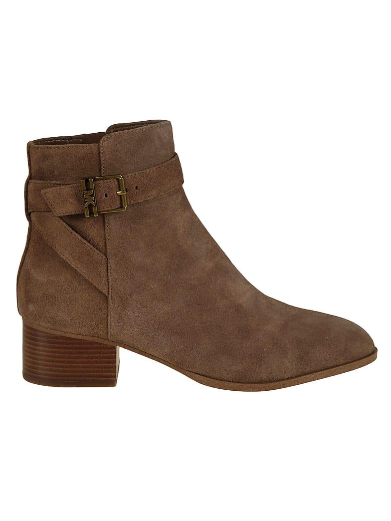 Michael Kors Britton Ankle Boots - Caramel