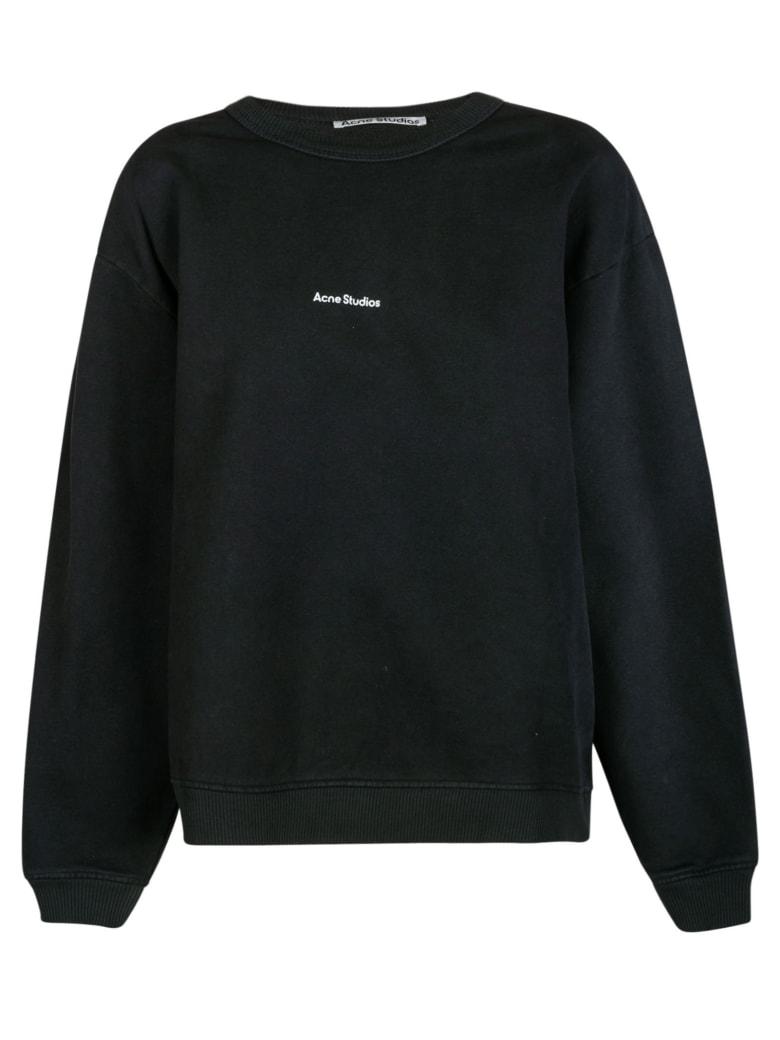 Acne Studios Chest Logo Sweatshirt - Navy