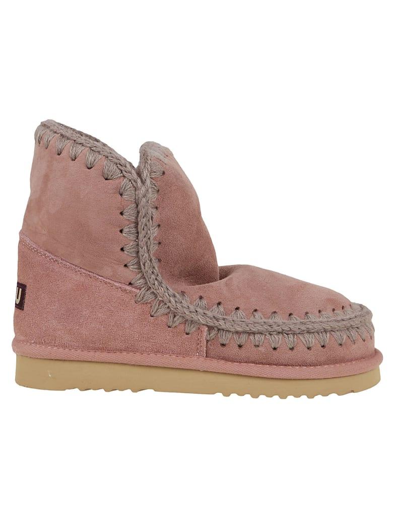 Mou Eskimo Boot 18cm - Dkpin Dark Pink