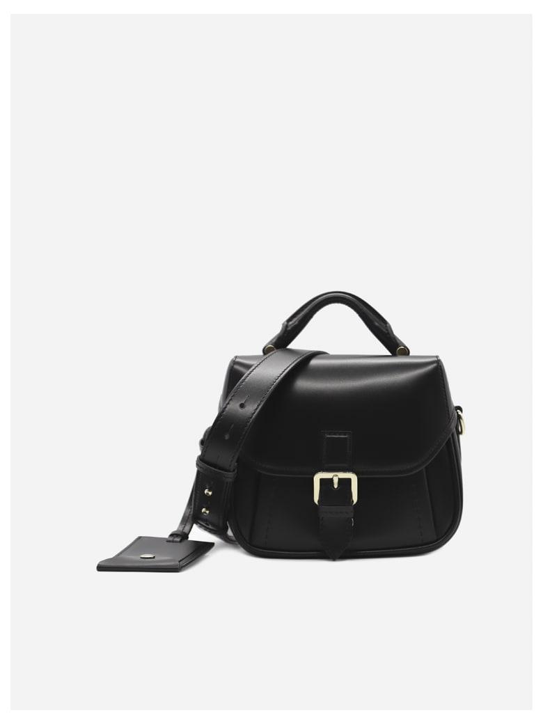 Max Mara Anna Petite Leather Bag - Black