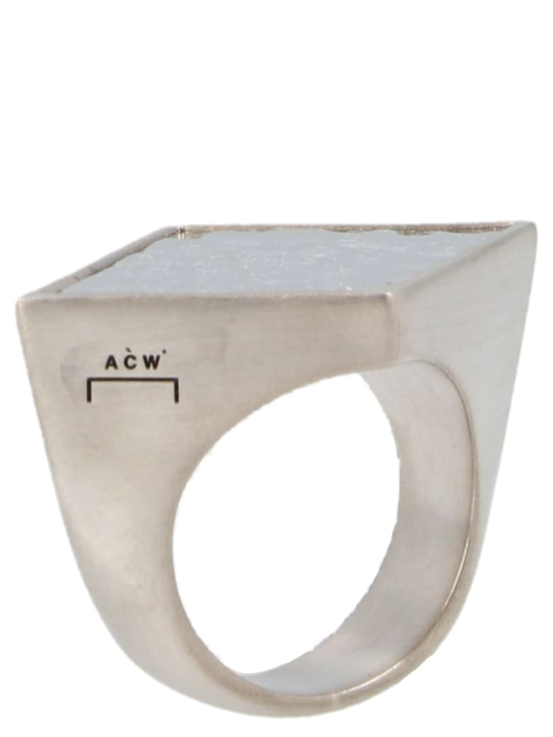 A-COLD-WALL 'artisan' Ring - Silver