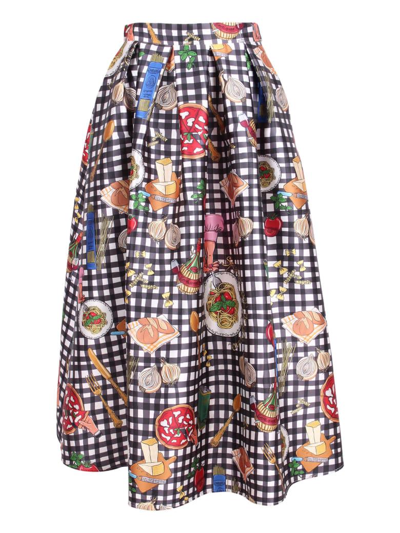 Alessandro Enriquez Polyester Skirt - Multicolor