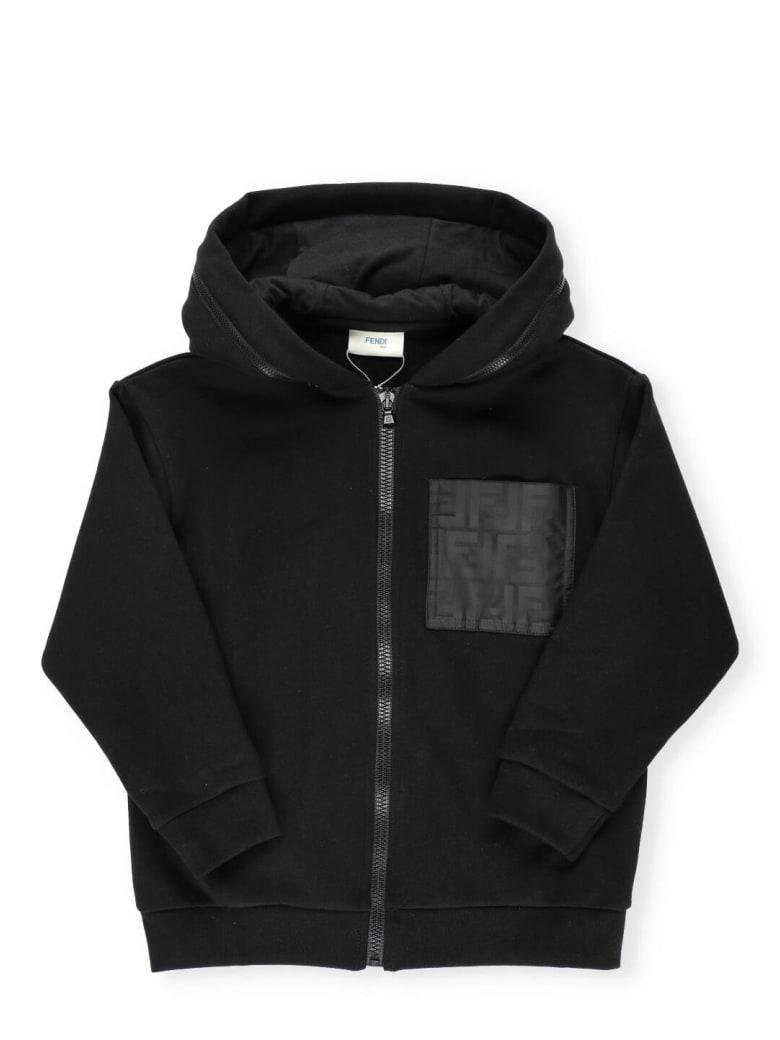 Fendi Monogram Sweatshirt - BLACK