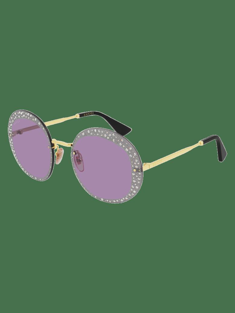Gucci GG0899S Sunglasses - Gold Gold Violet