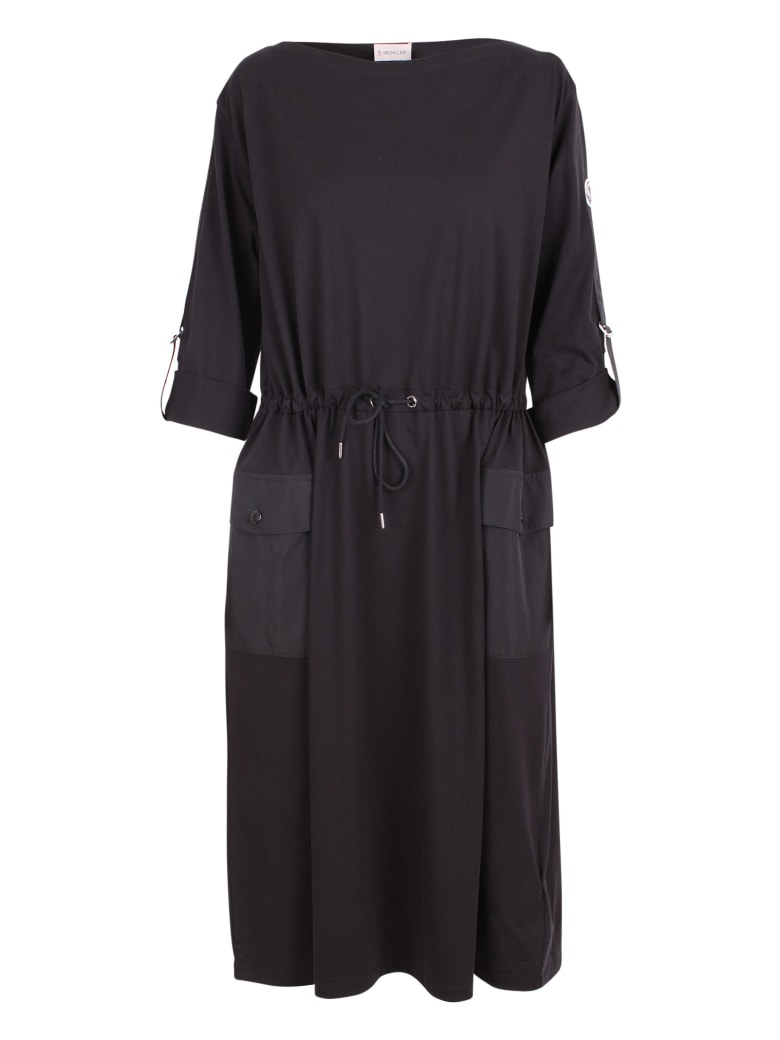 Moncler Cotton Dress - Black