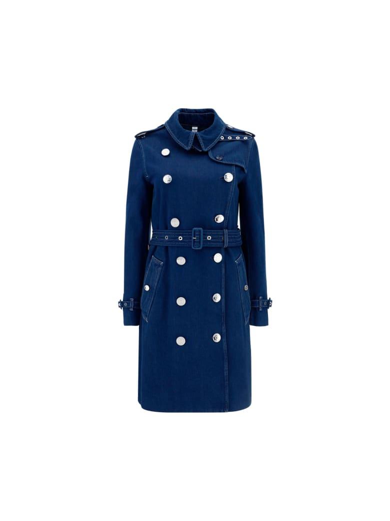 Burberry Kensington Coat - Dark blue