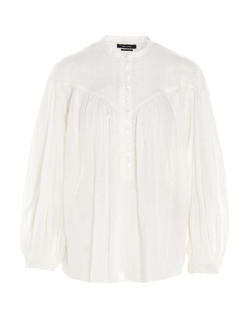 Isabel Marant 'kiledia' Blouse - White