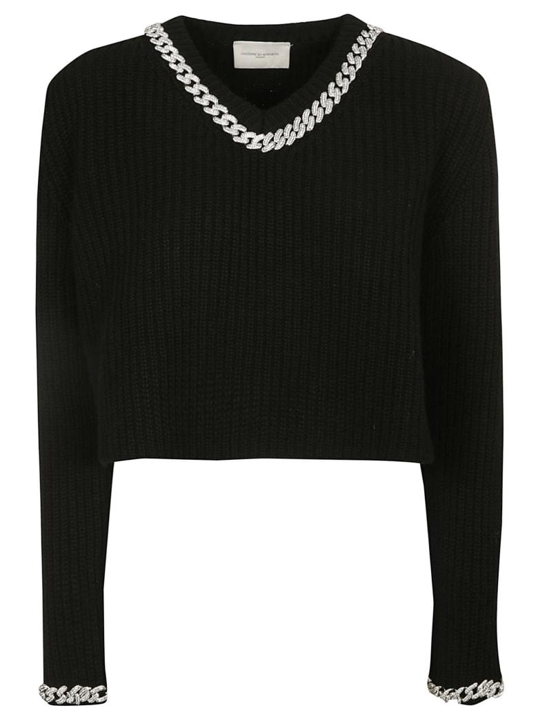 Giuseppe di Morabito Cropped Length Sweater - Black