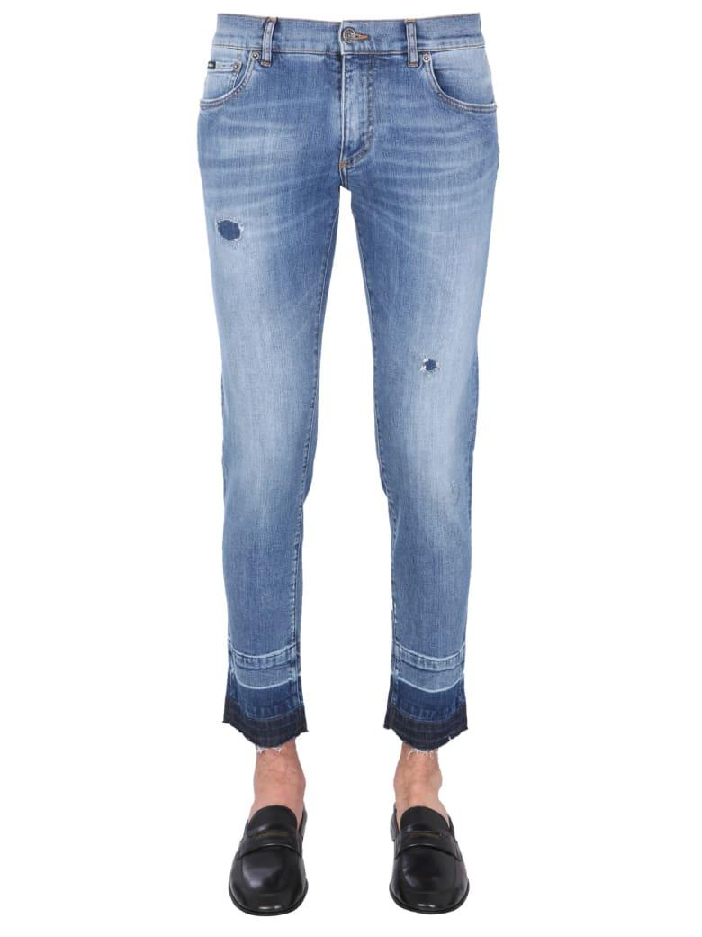 Dolce & Gabbana Skinny Fit Jeans - BLUE