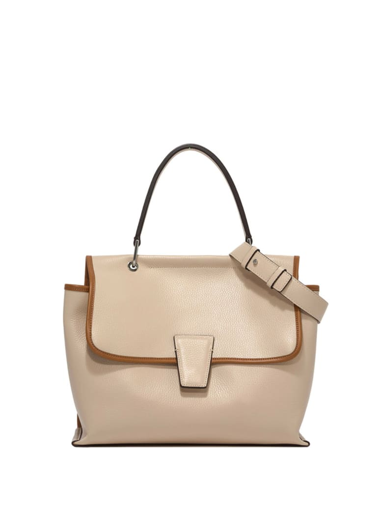 Gianni Chiarini Elettra Leather Bag - PANNA CUOIO