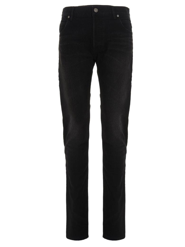 Balmain 'embossed' Jeans - Black