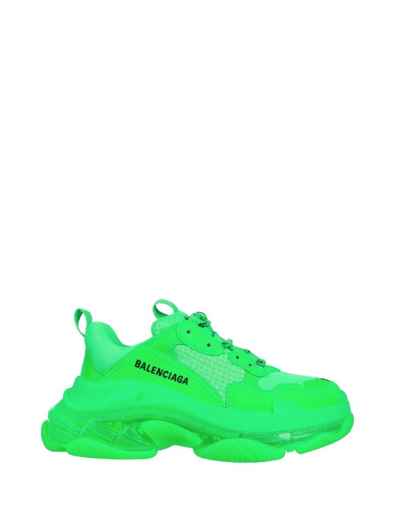 Balenciaga Balenciaga Sneakers Triple S - GREEN