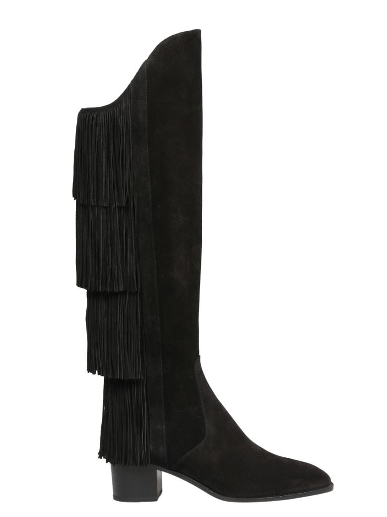 Christian Louboutin Boot Lion 55 Crosta - Black
