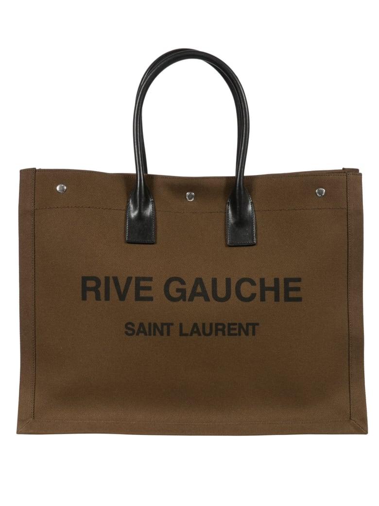 Saint Laurent Rive Gauche Tote - Brown