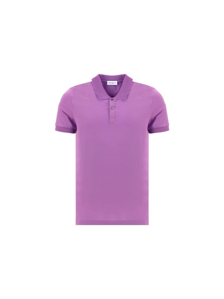 Salvatore Ferragamo Polo Shirt - Latex purple