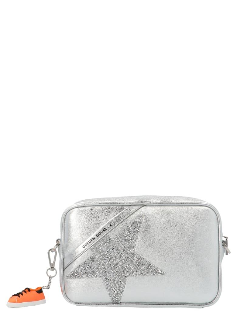 Golden Goose 'camera Bag Star' Bag - Silver