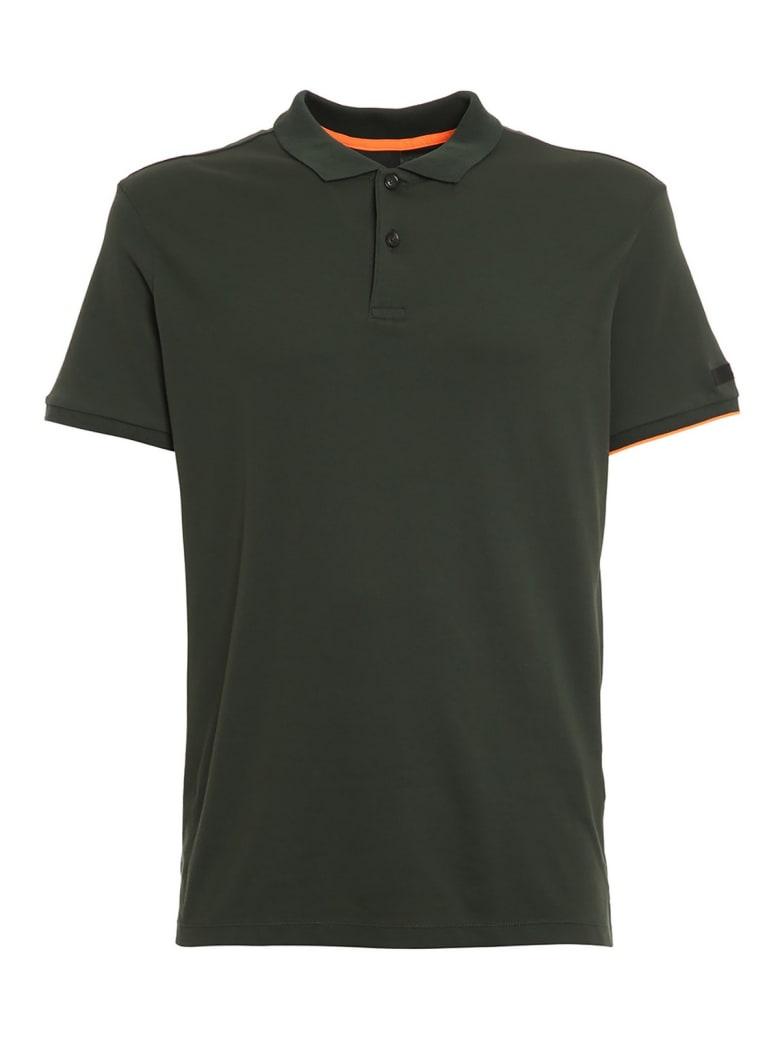 RRD - Roberto Ricci Design Polo Macro - Dark Green