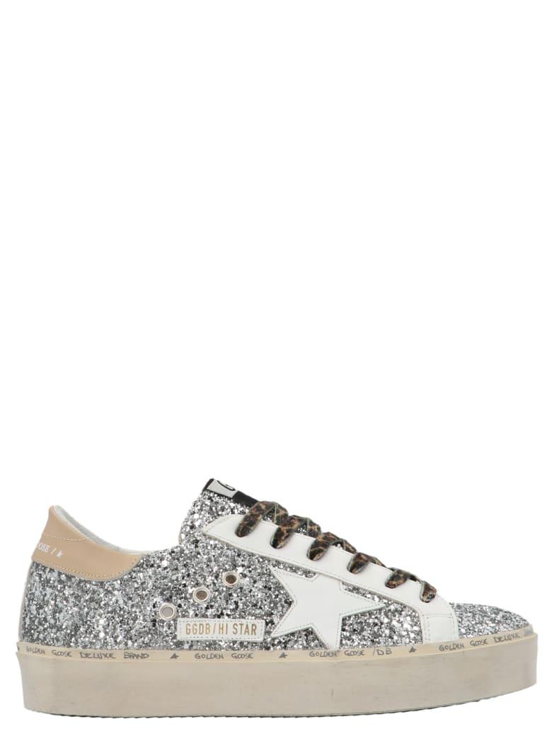 Golden Goose 'hi-star' Shoes - Silver