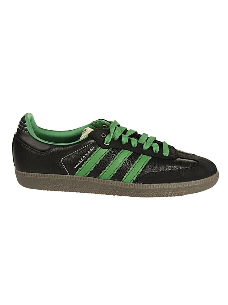 Adidas Originals by Wales Bonner Wales Bonner Samba - BLK/WHT/GREEN