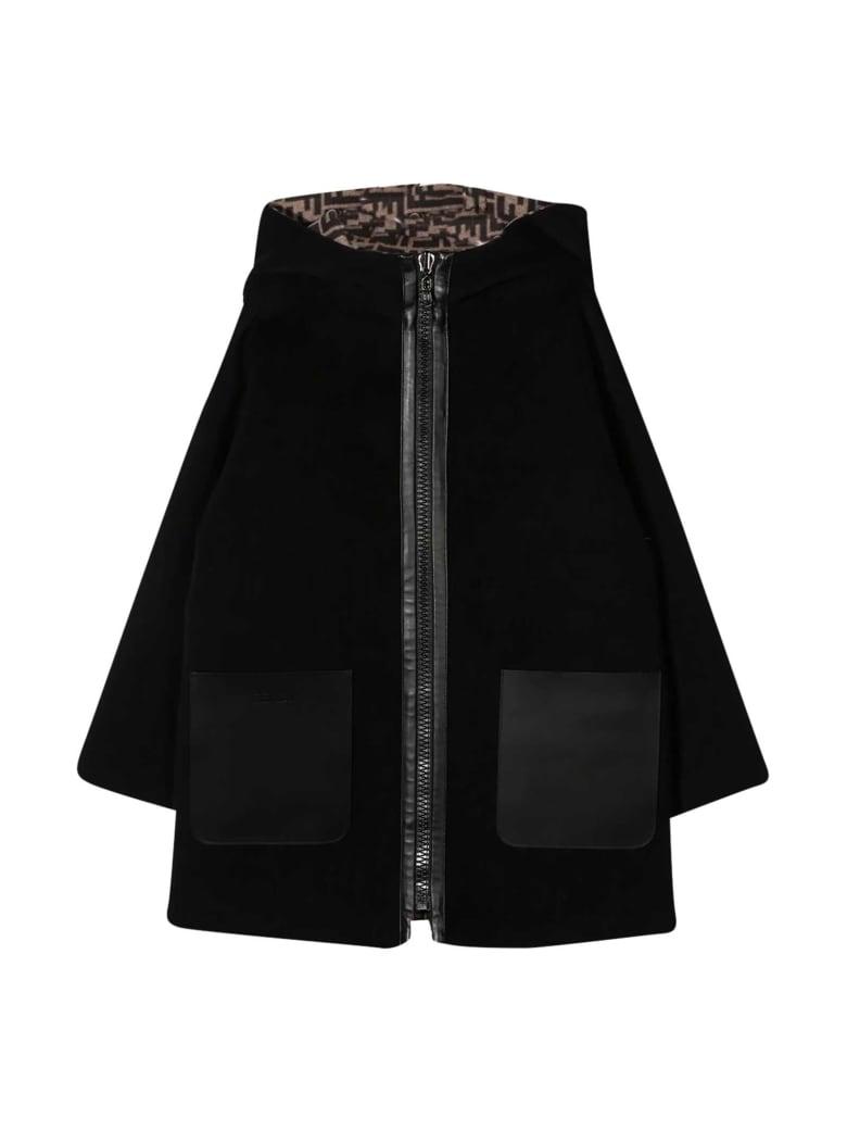 Fendi Black Coat - Nero