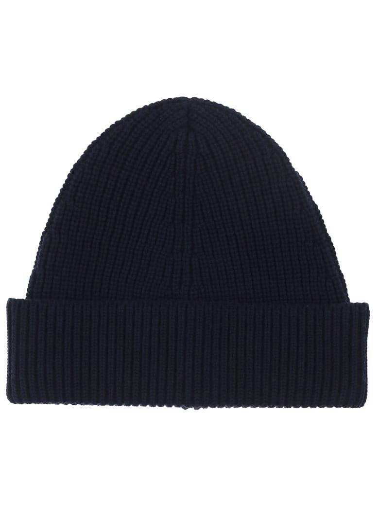 Maison Margiela Beanie Hat - Dark blue