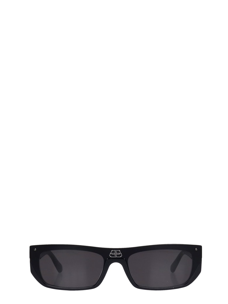 Balenciaga Sunglasses In Black Acetate - black