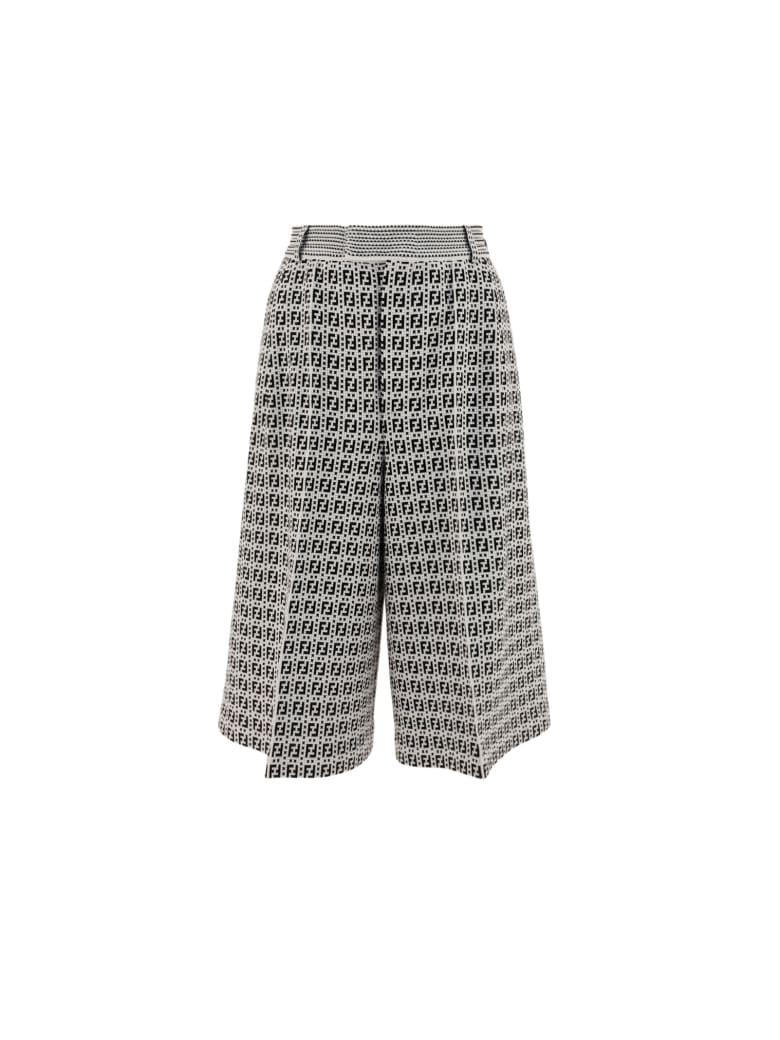 Fendi Bermuda Shorts - White