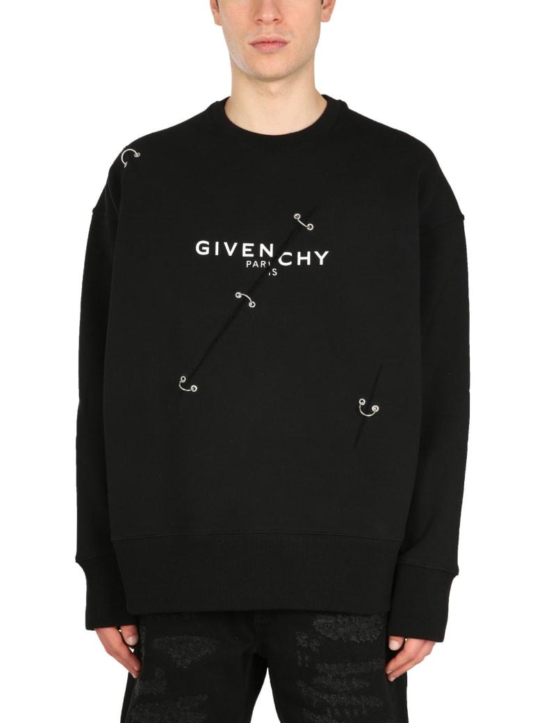 Givenchy Crew Neck Sweatshirt - Nero