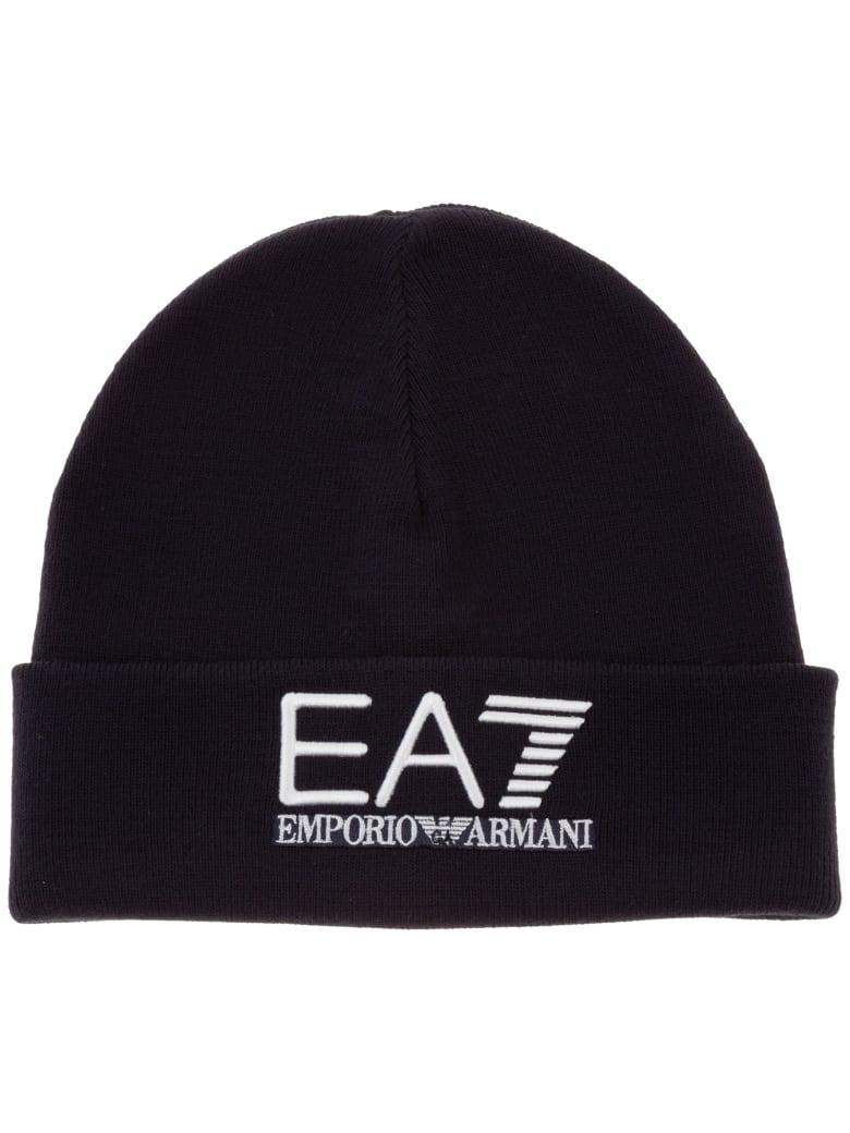 EA7 Emporio Armani Icon Beanie - Blu scuro