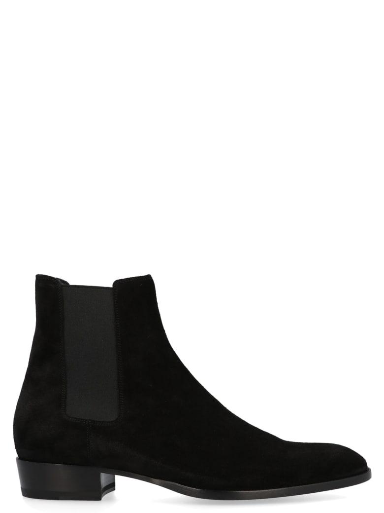 Saint Laurent 'wyatt' Shoes - Black