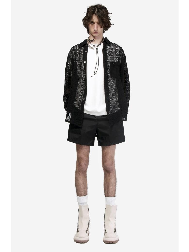Our Legacy Drape Tech Trunks Shorts - black