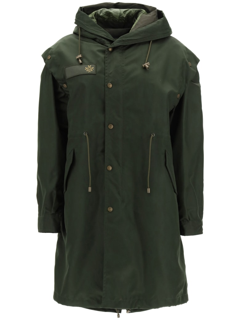 Mr & Mrs Italy Parka With Removable Vest And Bolero - LONDON GREEN (Green)