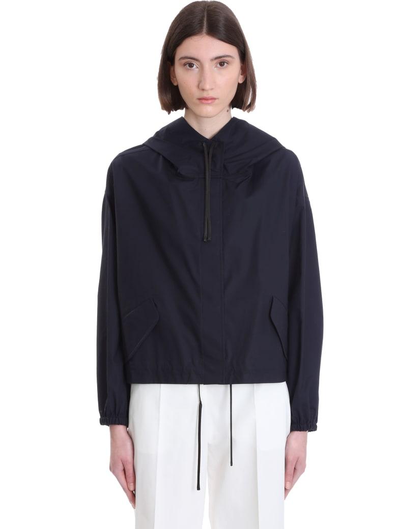 Jil Sander Casual Jacket In Blue Cotton - BLUE