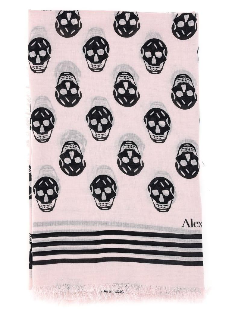 Alexander McQueen Foulard - Pink/black
