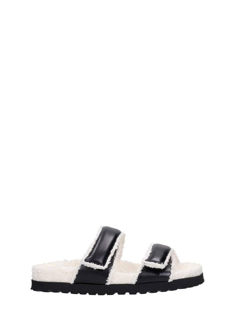 Gia X Pernille Teisbaek Perni 11 Flats In Black Leather - black