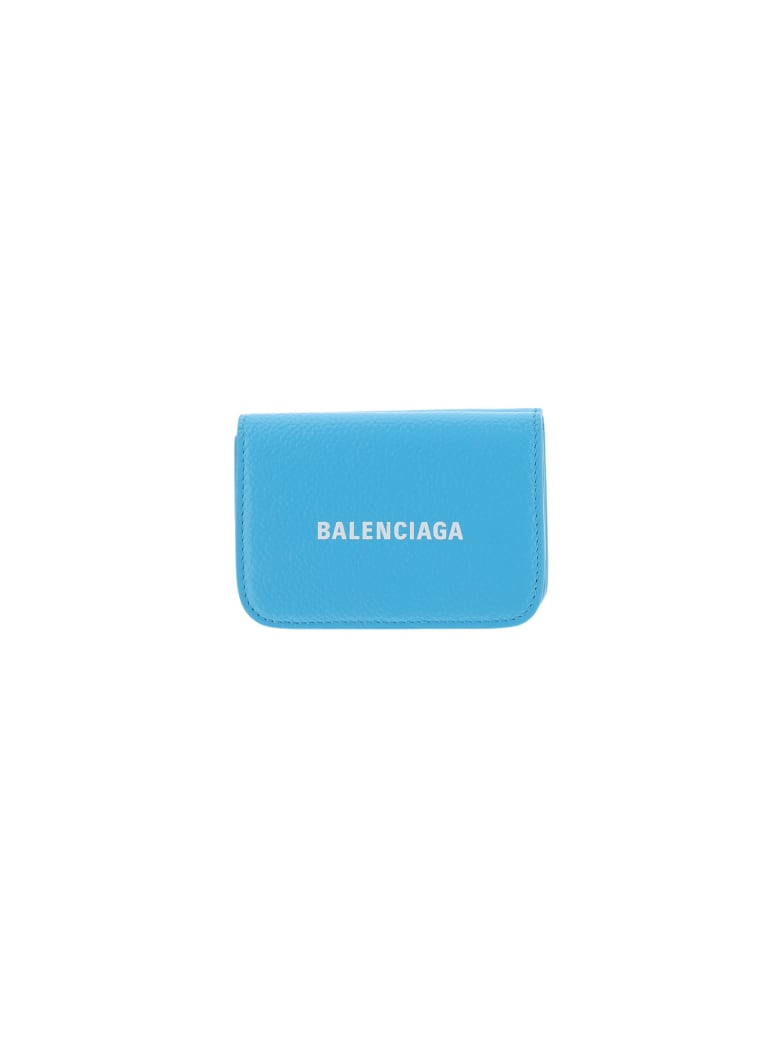 Balenciaga Wallet - Azur/l white