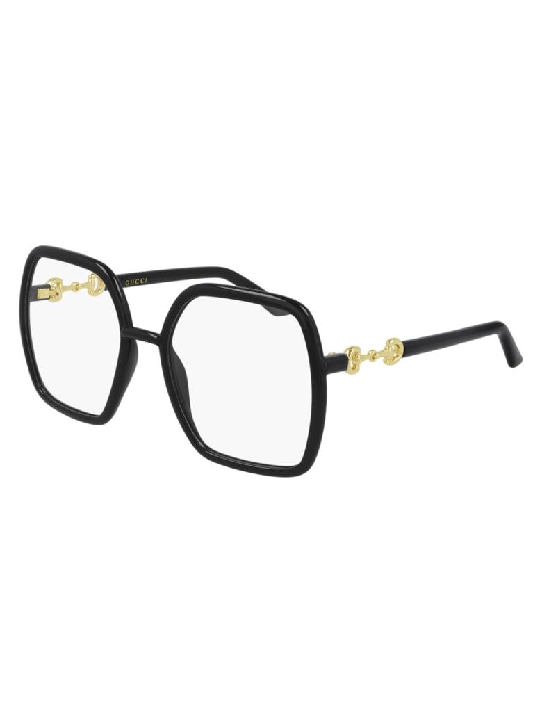 Gucci GG0890O Eyewear - Black Black Transpare