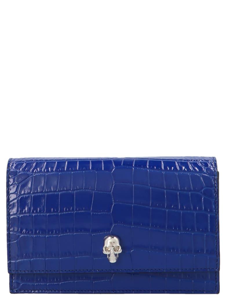 Alexander McQueen 'skull' Mini Bag - Blue