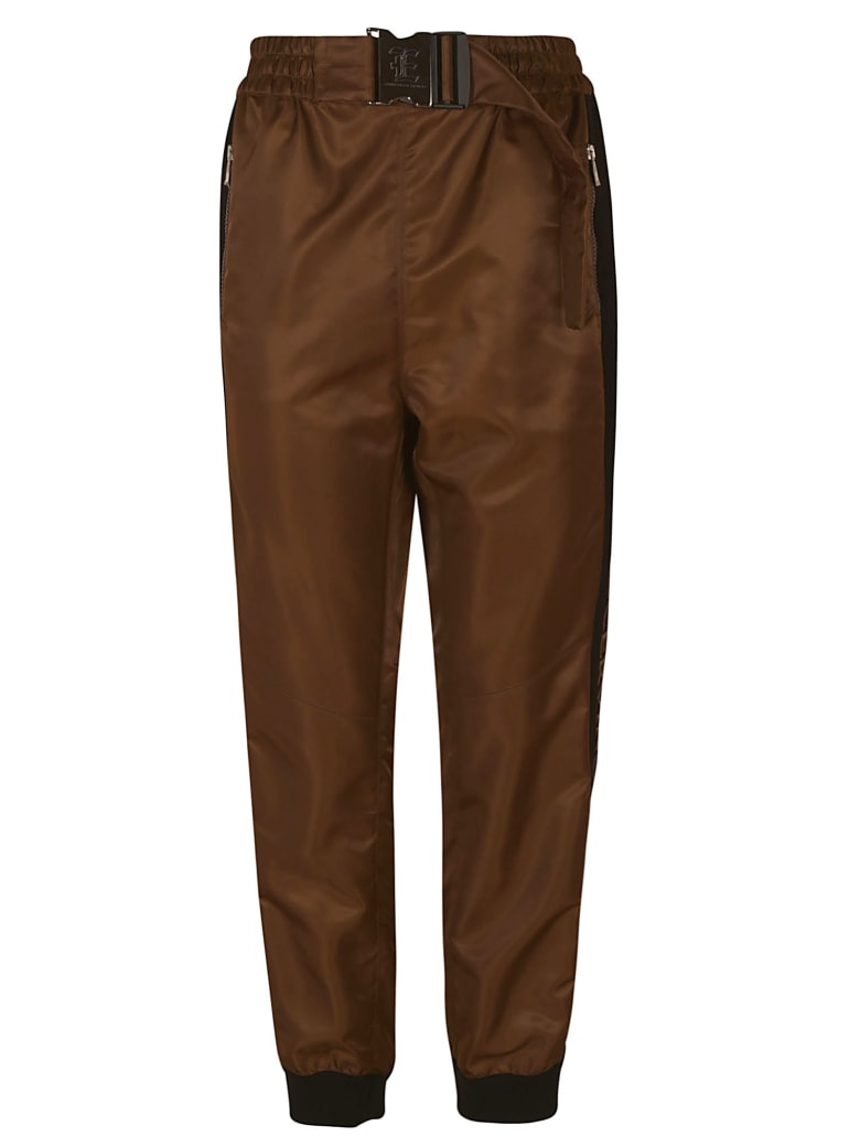 Ermanno Scervino Belted Trousers - Brown