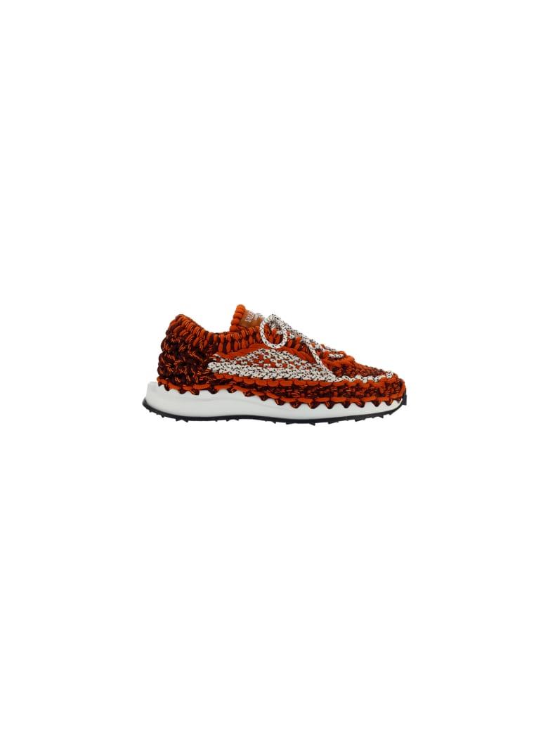 Valentino Garavani Sneakers - Orange/bianco/nero