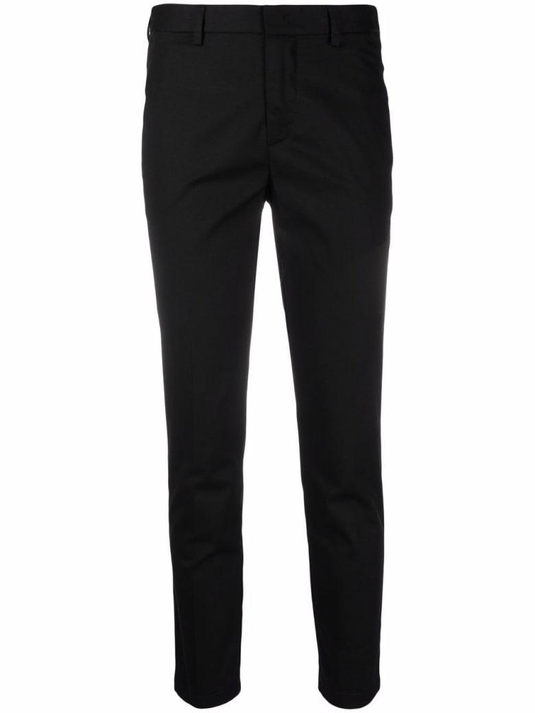 Merci Black Cotton Tailored Pants - Black