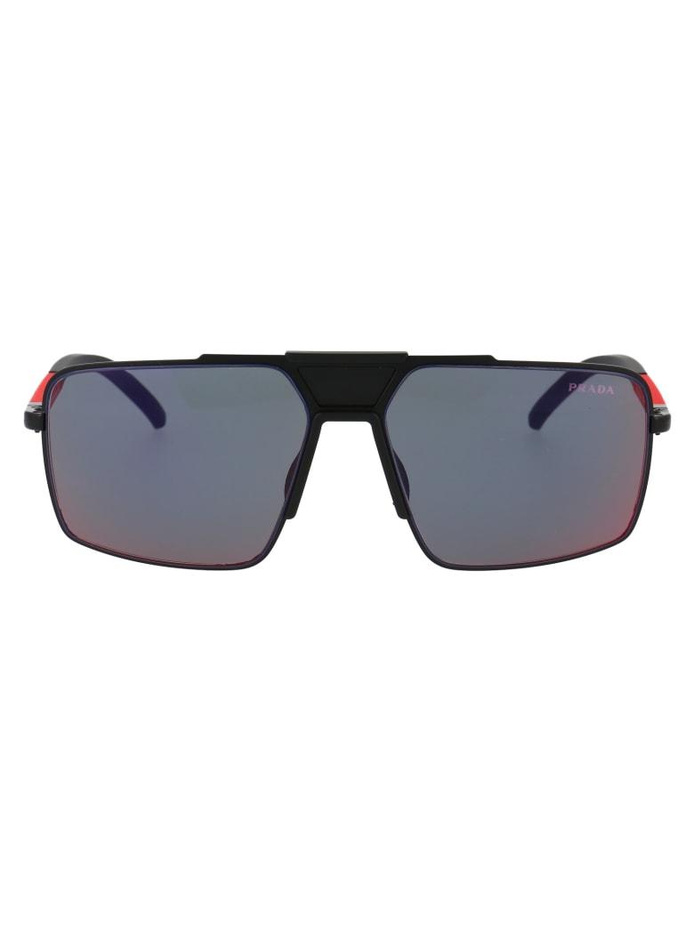 Prada Eyewear 0ps 52xs Sunglasses - 1BO01M MATTE BLACK