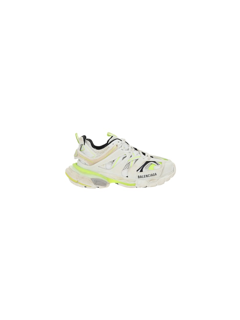 Balenciaga Truck Sneakers - White/fluo yellow