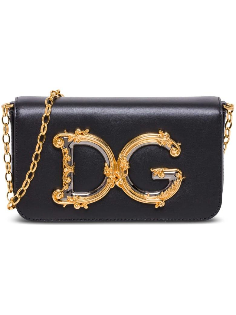 Dolce & Gabbana Dg Girls Crossbody Bag - Black