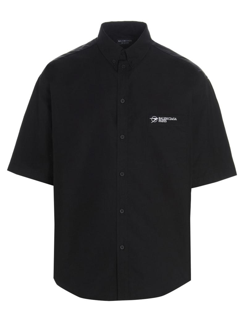 Balenciaga ' Paris' Shirt - Nero