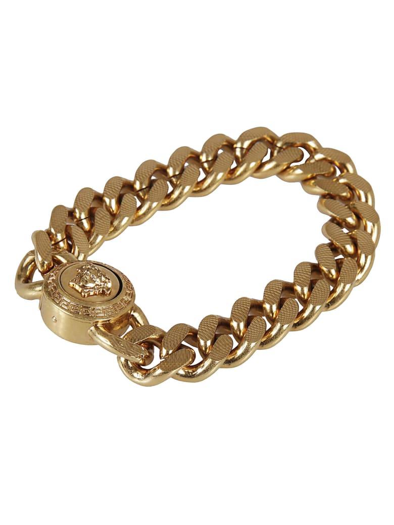 Versace Medusa Head Chain Bracelet - Gold