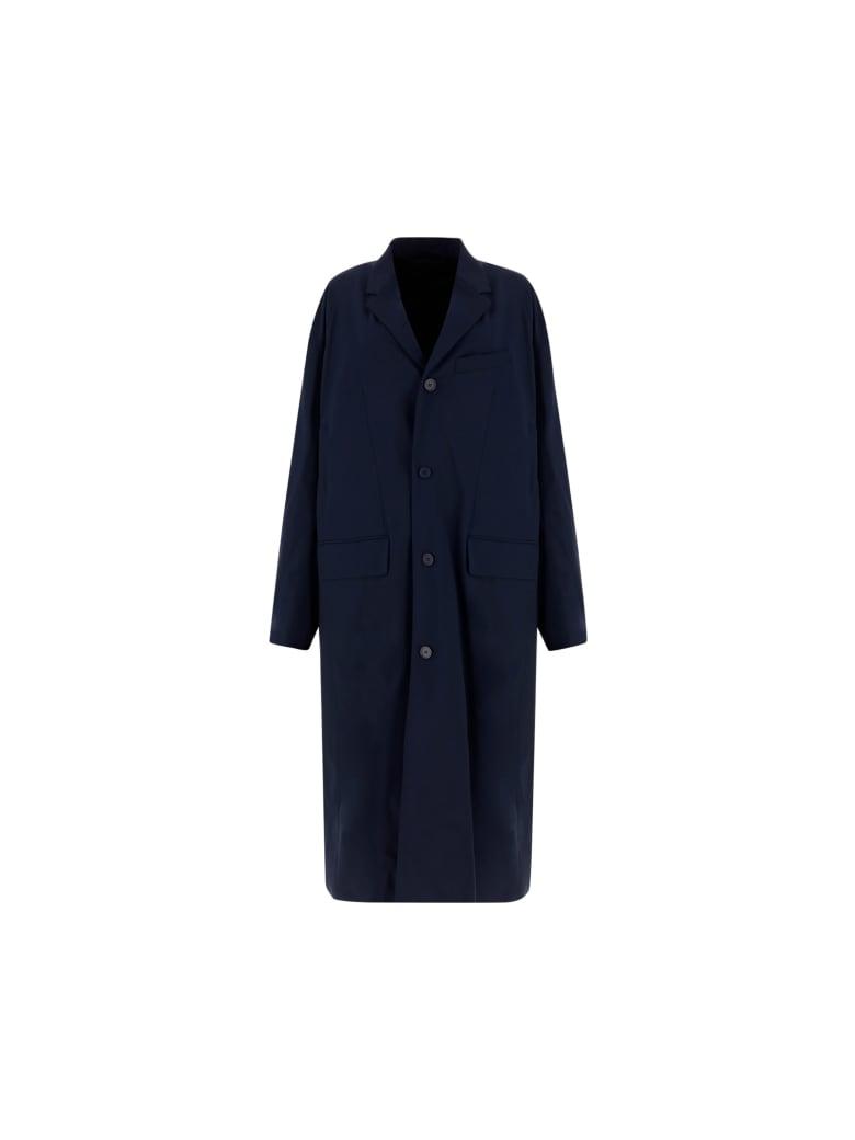 Balenciaga Tailoring Coat - Blu Navy